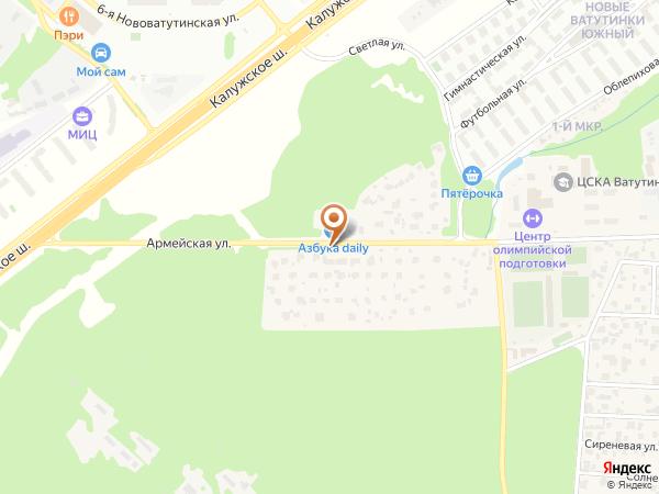 Остановка «Заречное», Армейская улица (1008942) (Москва)