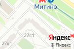 Схема проезда до компании ГринЛайн в Москве