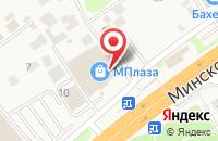 Схема проезда до компании Цветочная Миля в Новоивановском