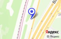 Схема проезда до компании АЗС ЮНИТРЕЙД-М в Москве