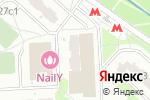 Схема проезда до компании МамаМаркет в Москве