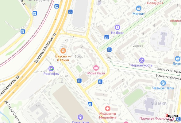 жилой комплекс Павшинская пойма мкрн. 3
