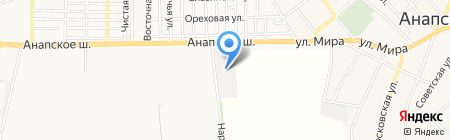 АВТОТРЕЙДИНГ на карте Анапы
