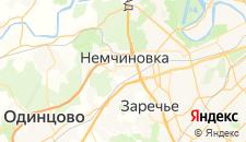 Гостиницы города Немчиновка на карте