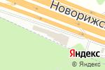 Схема проезда до компании Спорткар-центр в Москве