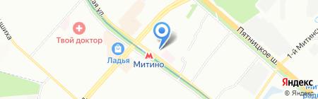 Trusiki.ru на карте Москвы
