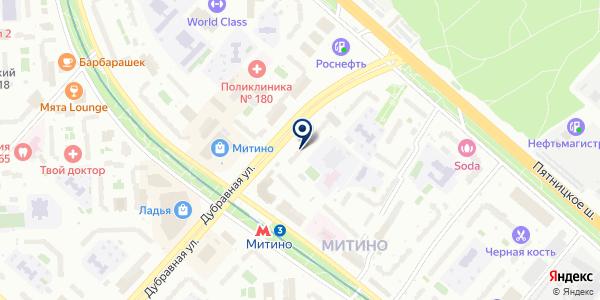 МИТИНО-1 на карте Москве