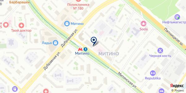 Shop Distance на карте Москве