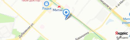 КСВ 911 на карте Москвы