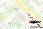 Схема проезда до компании Риони в Москве