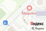 Схема проезда до компании Инь Янь в Москве