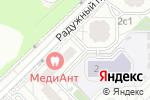 Схема проезда до компании Nail в Москве