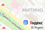 Схема проезда до компании Мед-Магазин в Москве