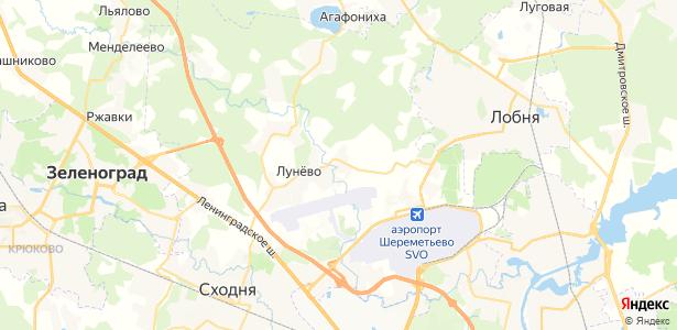 Шемякино на карте