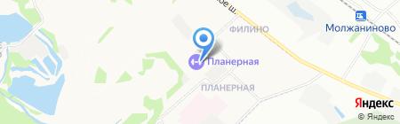 Гандикап на карте Химок