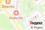 Схема проезда до компании Нотариус Губочкин П.А. в Красногорске