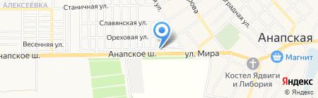 Вероника-С на карте Анапы