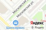 Схема проезда до компании Линзвенд в Московском