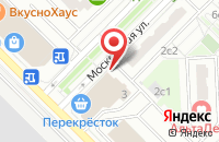 Схема проезда до компании Indigorun в Московском