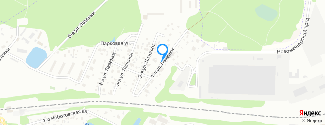 улица Лазенки 1-я