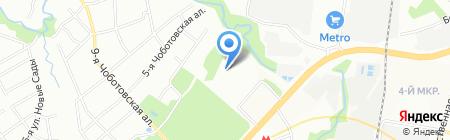 Средняя общеобразовательная школа №1455 с дошкольным отделением на карте Москвы