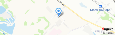 Средняя общеобразовательная школа №19 на карте Химок