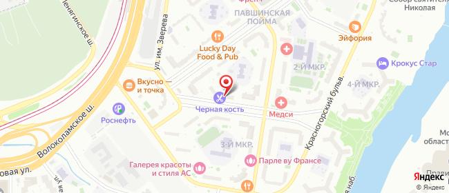 Карта расположения пункта доставки Красногорск Ильинский в городе Красногорск