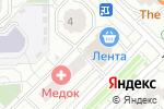Схема проезда до компании Ателье в Московском