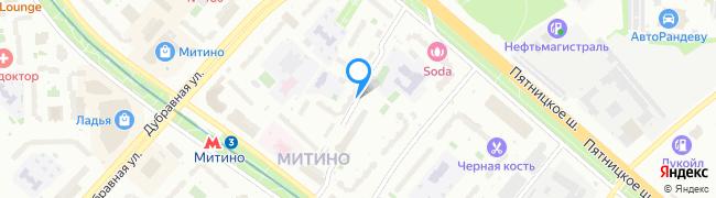 переулок Митинский 2-й