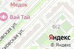 Схема проезда до компании Вкусногорье в Московском