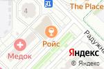 Схема проезда до компании Магазин женской одежды в Московском