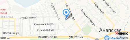 Почтовое отделение №431 на карте Анапы