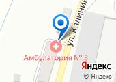 Амбулатория №3 на карте