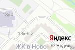 Схема проезда до компании Боровское 18-3 в Москве