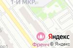 Схема проезда до компании Продуктовый магазин в Красногорске