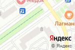 Схема проезда до компании Билайн в Красногорске