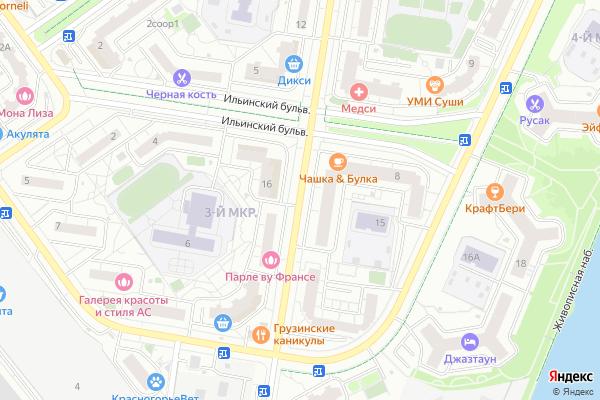 Ремонт телевизоров Павшинский бульвар на яндекс карте