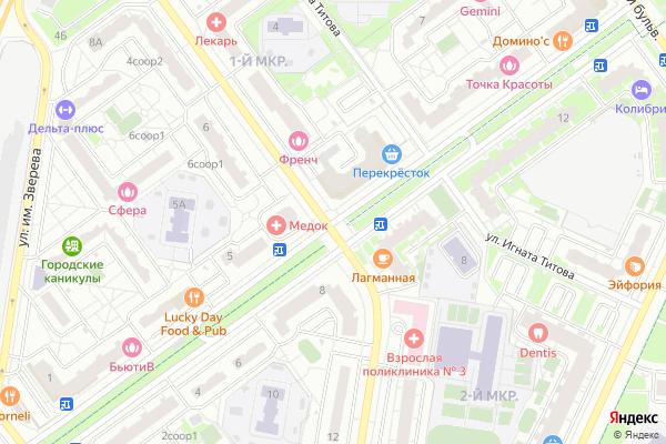 Ремонт телевизоров Подмосковный бульвар на яндекс карте