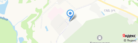 Сердолик на карте Химок