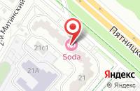 Схема проезда до компании Демтекс-М в Москве