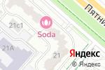Схема проезда до компании Нинави в Москве