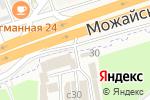 Схема проезда до компании Юкор-Авто в Москве