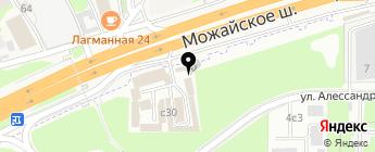 Торговый дом Сфера на карте Москвы