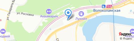 Лючки на карте Москвы