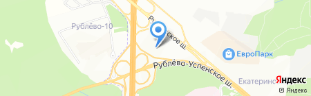 Артекс на карте Москвы
