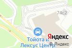Схема проезда до компании Бизнес Кар в Москве