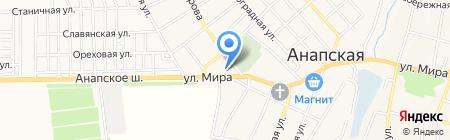 СтройБери на карте Анапы