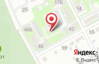 Схема проезда до компании Пт в Серпухове