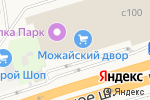 Схема проезда до компании Всё для вас в Новоивановском