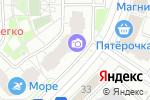 Схема проезда до компании Магазин табачной продукции в Московском